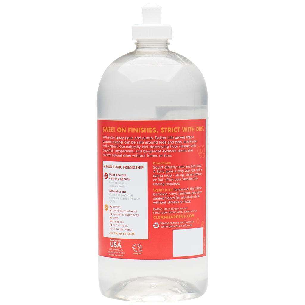 Better Life - Ready-to-Use Floor Cleaner Simply Floored! - 32 Oz - AM VITAMINS