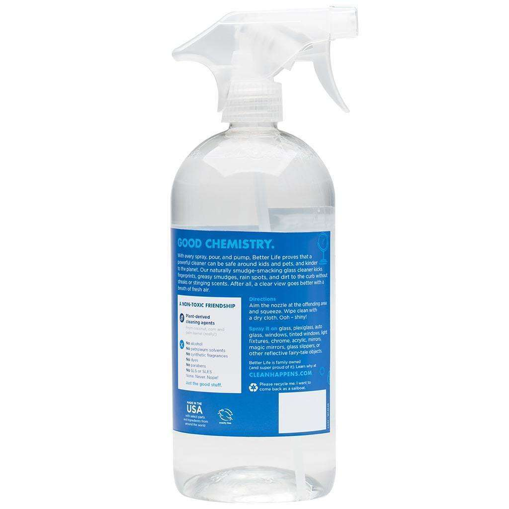 Better Life - Window/Glass Cleaner I Can See Clearly WOW! - 32 Oz - AM VITAMINS