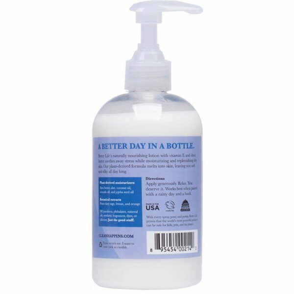 Better Life - Hand And Body Lotion Work It. Own It. - Clary Sage - 12 Oz - AM VITAMINS