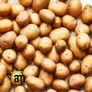 Potatoes are a material of beauty and charm